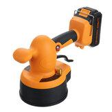 Vibratori portatili per piastrelle 3000mAh 100x100cm Strumento per la posa di piastrelle per macchine utensili per la posa di gesso 1.5A con Batteria