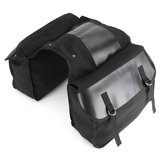 Motorcycle Saddlebags Back Pack Mountain Bike Saddle Bag Black