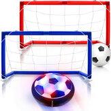 Hover Soccer Ball Set Akumulator Air Soccer Indoor Outdoor Sports Ball Gra dla chłopca dziewczyna najlepszy prezent dla dzieci zabawki do gier