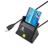Zoweetek ZW - 12026 - 3 EMV USB Smart Card Reader Writer DOD Military USB
