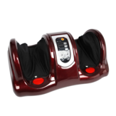 220V Electric Heating Foot Body Massager Remote Control Shiatsu Kneading Rolling Vibration Machine Calf Leg Pain Relief Tools