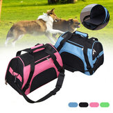 Portable Dog Cat Carrier Bag Soft-sided Pet Puppy Travel Bags Breathable Mesh Small Pet Chihuahua Carrier for Outgoing Pets Handbag