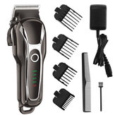 SURKER Barber Salon Electric Hair Clipper Rechargeable LED