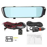 7 '' HD 1296P Dual lente Videoregistratore Specchio retrovisore Car Dash Cam fotografica DVR