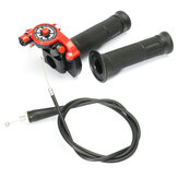 Quick Action Twist Throttle With Cable Red 125cc 140cc 150cc Pit Bike