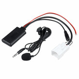 5Pin Coche adaptador de cable de audio bluetooth AUX Cable 12V con micro para Ford Falcon