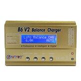 HTRC B6 V2 80W 6A Digitální RC baterie Vybíječka nabíječky pro akumulátor LiPo