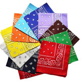 12Pcs Pattern Assorted Colour Sport Bandanas Headwear Face Mask Scarf