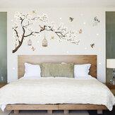 زهرةبيضاءفرعشجرةالجدارملصق الكرز الشارات جدارية ديكور