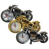 Creative Plastic Motorcycle Motor Bike Quartz Alarm Relógio