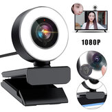 Bakeey 960 1080P HD USB2.0 Webcam Conference Live Auto Focus Fill-In Light Beauty Computer Camera Built-in Noise Reduction Mic