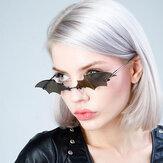 نظارة شمسية بإطار إبداعي على شكل بات موديل UV