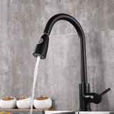 Bakeey Non-touch Smart Sensor Faucet Two Outlet Methods Stretch Faucet With Water Inlet Pipe