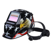 Solar Powered Auto Darkening Welding Helmet Arc Tig Mig Grinding Welderr