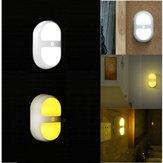 LED nattlampa mänsklig rörelseinduktionssensor kontrollampa batteri för sovrums badrum