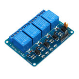 3pcs 24V 4 Channel Relay Module PIC ARM DSP AVR MSP430