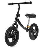 12インチの子供バイクペダルなし幼児バランスバイク子供スクーター自転車2/3/4/5歳の初心者ライダートレーニング