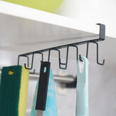 Wrought Iron No Trace Nail-Free Multifunction Storage Hang Rack