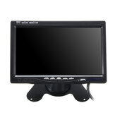 7 Inch Car Rear View Headrest Monitor DVD Player VCR Monitor TFT LCD Display Adjustable Rotating