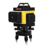 12/16 Linea 4D Luce Verde Laser Livello 6000 mAh Grande Batteria Capacità Misuratore Rotativo a 360 ° Autolivellante Digitale