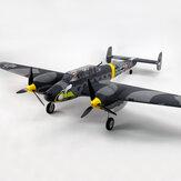 Dynam Messerschmitt BF-110 V3 1500mm Envergadura EPO Warbird RC Airplane PNP