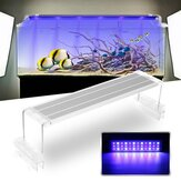 45CM 18W Touch Switch LED Aquarium Light Clip Två lägen Fish Tank Lamp Plant Grow Light 220V