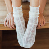 Tube Socks Summer Cotton Breathable Crew Socks