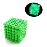 216PCs 5mm Magic Strong Fluorescent Buck Ball Twórcze Imanes Magnetic Stres Relive Toys With Box