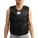 20kg Loading Weighted Vest Adjustable Exercise Training Fitness Jacket Gym Boxing Waistcoat