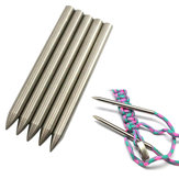 IPRee® 6MM 550 Paracord Fid Lacing Stitching Weaving Needle Stainless Steel Works For Laces Strings