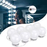 DC5V USB Hollywood Style LED Miroir Maquillage Partie avec 8 Ampoule Blanc Dimmable pour Dressing Room