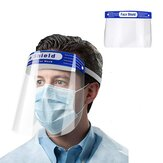 10Pcs/Pack Disposable Safety Face Shields Reusable Full Transparent Face Mask