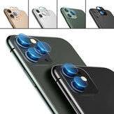 iPhone 11 / iP 11 Pro / iP 11 Pro Max用の3D強化ガラス+メタルサークルリングアンチスクラッチフォンレンズプロテクター