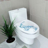 Kreative 3D Toilettensitz Wandaufkleber Kunst Tapete Abnehmbare Badezimmer Decals Home Decor