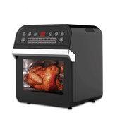 12L 1600W Fritadeira de ar, torradeira, forno, churrasqueira, desidratador, bancada