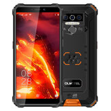 OUKITEL WP5 Pro Global Version 5.5インチIP68 / IP69K防水8000mAh Android 10 13MPトリプルリアカメラ4GB 64GB MT6762D 4Gスマートフォン