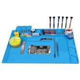 S-170 480x318mm Siliconen Pad Bureau Werk Mat Isolatie Onderhoud Platform voor BGA PCB Solderen Reparatie Tool