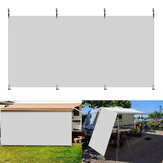 Caravan Sun Shade Wall Side Visor UV-Anti Privacy Zone Screens Roll Out Awning
