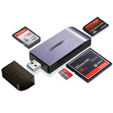 UGreen CM180 4-In-1 USB 3.0 to SD TF CF MS Memory Card Reader Support Simultaneous Read