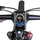 BIKIGHT Electric Bike 850C Display Screen for BAFANG BBS01/BBS02/BBSHD Mid Drive Motor Bicycle Ebike Computer