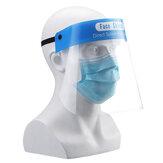 Face Máscara Escudo de proteção Chapéu Segurança descartável transparente reutilizável Escudo de isolamento de rosto inteiro
