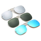 BIKIGHT Polarized Clip-on Sunglasses Night Vision Goggles UV Protection Outdoor Travel Driving Glasses Clip-on