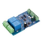3 قطع المزدوجة Modbus-Rtu 2-way Relay Module Switch إدخال and Output RS485 / TTL الاتصالات Controller