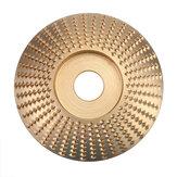 Disco de modelado de talla de lijado de madera de muela abrasiva de 100 mm para amoladora angular