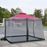 Rede de mosquito ao ar livre do guarda-chuva para a cama home Capa de guarda-chuva romana Malha segura Rede de insetos mosquiteiro 3x3x2.3m