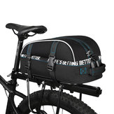 ROSWHEEL 141416 Bike Trunk Bag Fiets Tiered Waterproof Bag Multifunctionele Plank