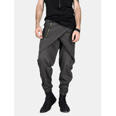 Mens Casual Baggy Street Pant Hippy Harem Drop Crotch  Zipper Long Pants