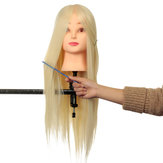 Professionele Long Hairdressing Mannequin Training Practice Hoofd Salon + Klem