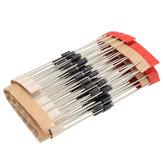 100 stks IN4007 1N4007 DIP Gelijkrichterdiode Component Kit Voor DIY-projecten