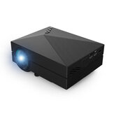 GM60 Mini Portable Full HD 1080P LCD Projector 1000LM LED Home Theater 800 x 480 Pixels Resolution